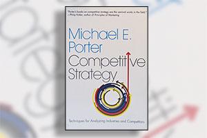 پورتر اولین بار مفهوم استراتژی رقابتی را در کتاب استراتژی رقابتی خود مطرح کرد