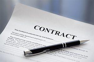 نحوه تنظیم انواع قراردادهای تجاری