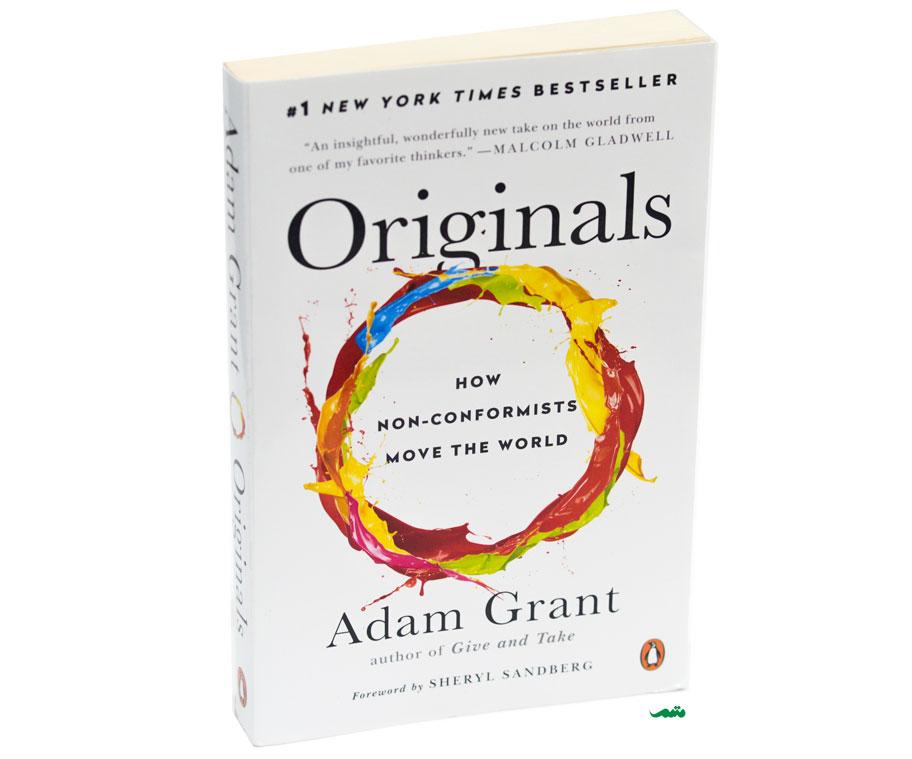 کتاب کارآفرینی آدام گرنت (آدام گرانت) - درباره خلاقیت و ایده های جدید