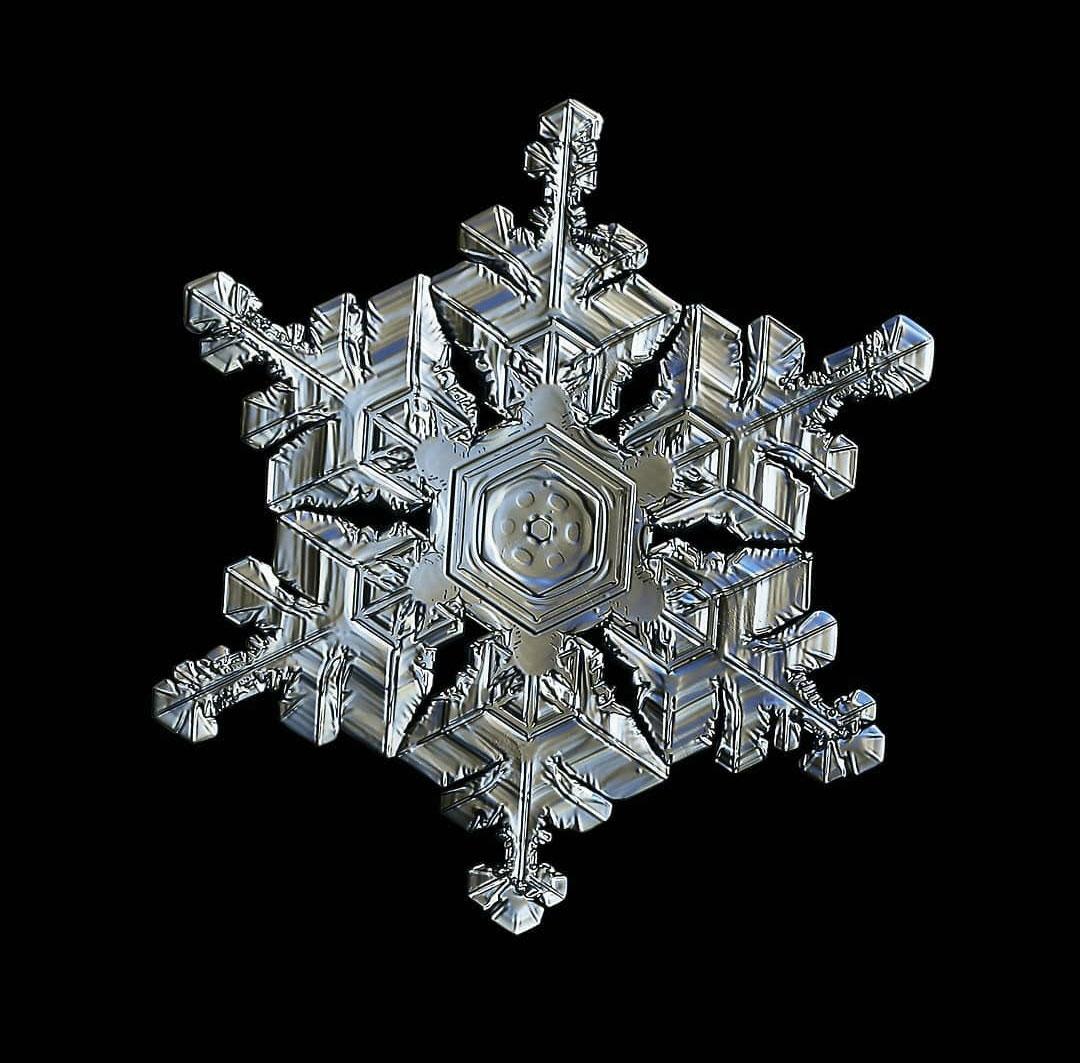 تحقیق در مورد دانه های برف
