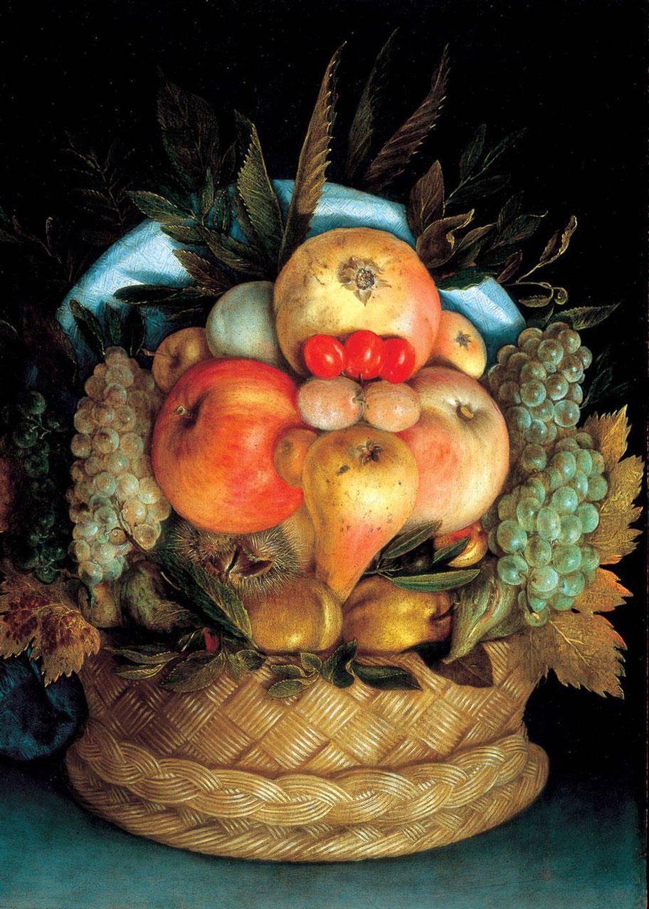 آرچیمبولدو - سبد میوه