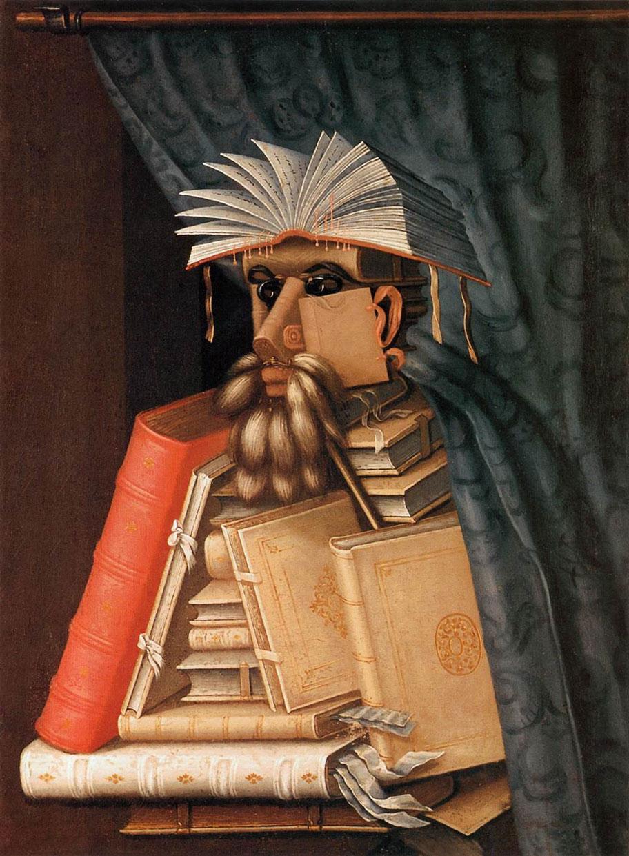 آرچیمبولدو - کتابدار
