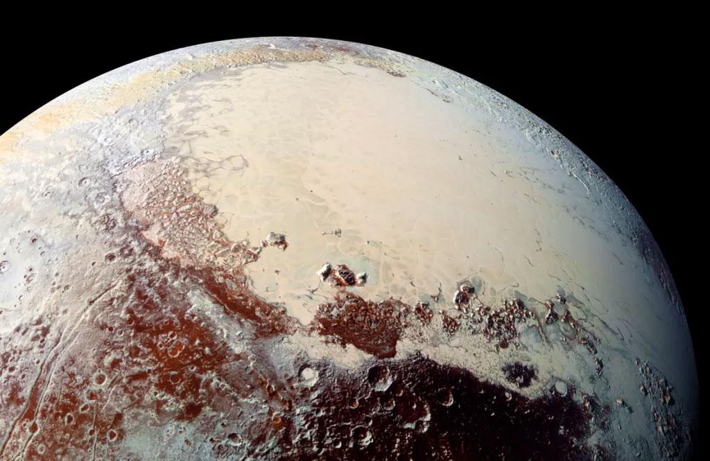 عکس پلوتو - اولین نمونه خاکسپاری در فضا