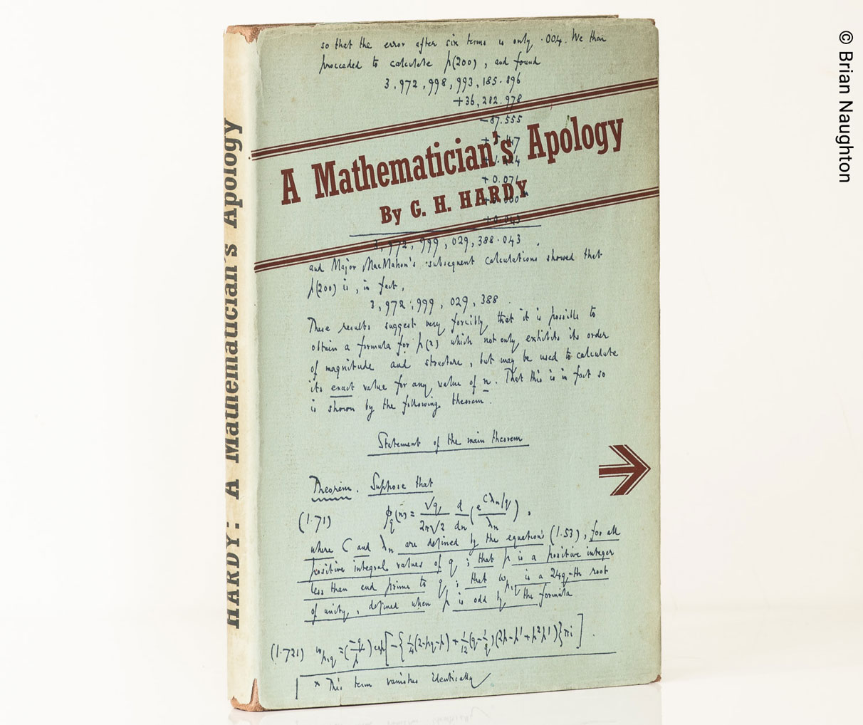 عذرخواهی یک ریاضیدان